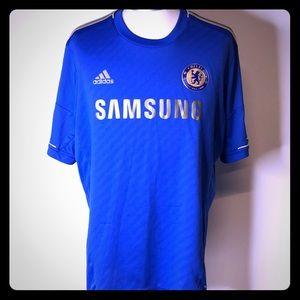 Chelsea FC 2012-2013 adidas home kit Mata 2XL